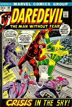Daredevil 89 Marvel Comics For Sale Marvel Comics Art, Marvel Comic Books, Comic Book Heroes, Marvel Heroes, Vintage Comic Books, Vintage Comics, Sal Buscema, John Buscema, John Romita Jr