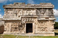 Monjas, Nunnery, Chichen Itza ruins, The Yucatan, Mexico