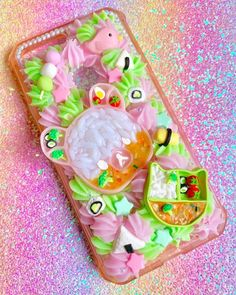 Kawaii Phone Case, Decoden Phone Case, Diy Phone Case, Cute Cases, Cute Phone Cases, Iphone Phone Cases, Baby Girl Items, Kawaii Accessories, Cute Polymer Clay
