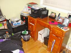 Rejuvenate Your Messy Home-Office