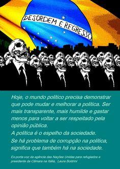 E se a culpa não fosse só dos nossos políticos? E se você tivesse pensado antes de você votar? E se você estudasse um pouco da história do Brasil ao invés de repetir as mesmas frases no facebook? E se você acreditasse no Brasil?