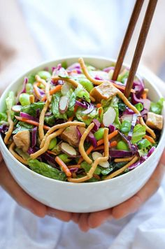 Chinese Chicken Salad - Restaurant quality that you can easily make right at home, except it's healthier and a million times tastier!