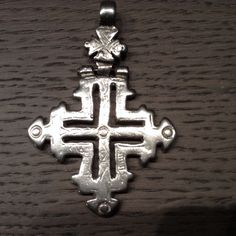 Ethiopian Coptic cross,Solomonic Shoa design.Unique, antique,solid silver 835.Top of the shelf article.Lost wax system.Collector's item by Shebastreasures650 on Etsy