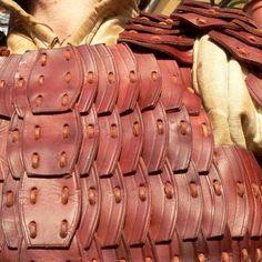 Lamellar armour leather - Viking