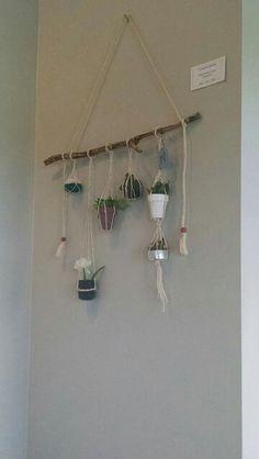 Macrame hanging garden