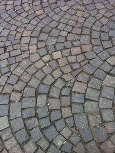 Cobble stones in Antwerp - Belgium