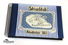 Eine wunderschöne Geschenkidee, ein ganz persönliches Erinnerungsalbum oder Büchlein mit Fotos aus dem Skiurlaub. Das Album für leidenschaftliche