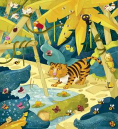 olivier huette illustration safari éditions lito