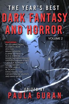 Check out the lineup for THE YEAR'S BEST DARK FANTASY AND HORROR: VOLUME TWO, edited by Paula Guran and coming from PYR in October! #horror #amreading #comingsoon Dark Alleyway, Stephen Graham, Bram Stoker, Horror Books, October 19, Black Ops, Dark Fantasy, Lineup, Science Fiction