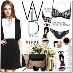 Vipme by oshint on Polyvore featuring moda, STELLA McCARTNEY, Michael Kors, Sole Society, MAC Cosmetics, Smashbox, Yves Saint Laurent, women's clothing, women's fashion and women