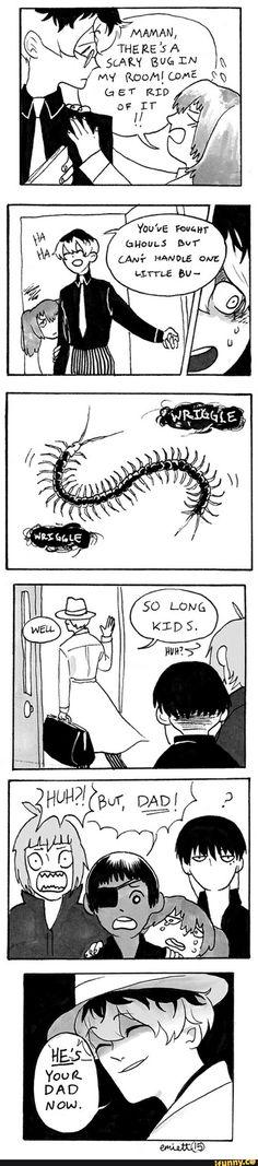 tokyoghoul, tokyoghoulre, centipede