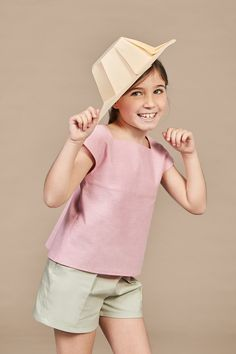 Chapeau Collection by Annice Kids Outfits Girls, Little Girl Dresses, Kids Girls, Girl Outfits, Girls Dresses, Boy Fashion, Fashion Dresses, Baby Girl Tops, Structured Dress