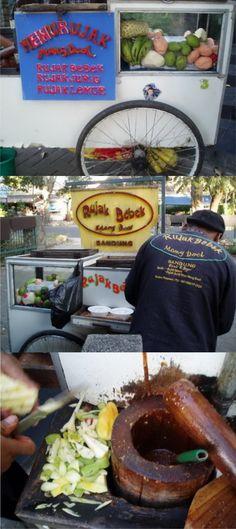 #rujak #cart  #food #street #cheap #bandung