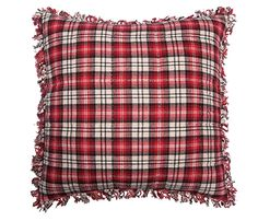 Mountain rouge / red  jeté assorti disponible / matching throw available