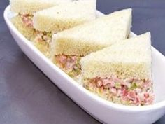 Garden Spread Tea Finger Sandwiches.  Pioneer Woman Ree Drummond.  veggies and cream cheese