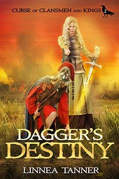 Dagger's Destiny by Linnea Tanner - View book on Bookshelves at Online Book Club - Bookshelves is an awesome, free web app that lets you easily save and share lists of books and see what books are trending. Book Club Books, New Books, Good Books, Books To Read, Amazing Books, Online Book Club, Books Online, Celtic Warriors, Historical Fiction Books