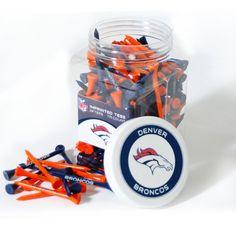 Team Golf Denver Broncos Jar of 175 Golf Tees ***BACKORDERED***