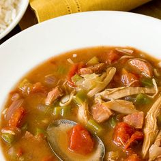 Southern Family Recipe: Chicken & Andouille Sausage Gumbo