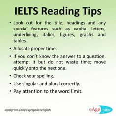 Quick reading-tips
