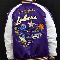 Starter NBA Los Angeles Lakers Souvenir Jacket