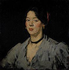 portrait of JEANNIE BLYTHE a Scottish gypsy flower seller