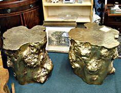 Gold Tree Stumps