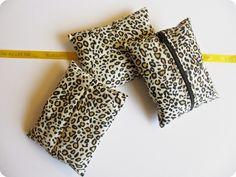 DIY - Sachets de lavande léopard pour parfumer les armoires par *Tadaam!