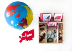 Animals of Europe for the Montessori Wall Map & Quietbook with Printables What Is Montessori, Montessori Homeschool, Montessori Classroom, Montessori Activities, Maria Montessori, Homeschooling, Geography Activities, Teaching Geography, Montessori Materials
