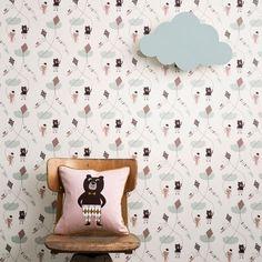 Cloud Wandlamp Mint - Ferm Living - Kids