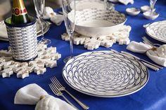 Jersey Pottery Sardine Run ceramics, perfect for a coastal Christmas theme #JerseyPottery #ceramics #pottery #fish #shellfish