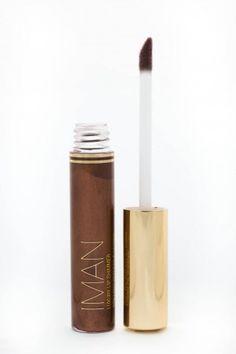 Chocolate Diamond - Brillant à Lèvres Irisé -  Iman Cosmetics