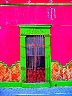 ZAP!!! the brightest door!!! #pink