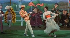 Mary Poppins, first movie, I was 4 and my dad took me and I ate DOTS