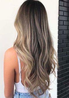Brown Hair Balayage, Hair Color Balayage, Blonde Color, Ombre Hair, Bronde Hair, Honey Balayage, Brunette Color, Sandy Blonde Hair, Brown Blonde Hair