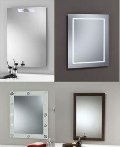 """Espejito, espejito...te damos algunas ideas para decorar tu baño """"Con acabados en madera, con look art, con luz..."""""""