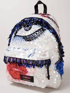Le sac glitter MSGM - Un sac Eastpak, 16 designers et autant d'oeuvres d'art