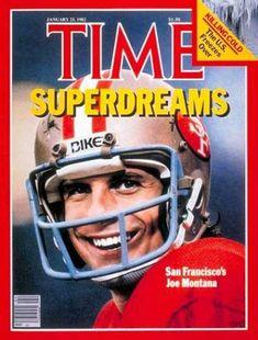 January 25 1982 Time Magazine With Joe Montana Front Cover EX+ Football Uniforms, Nfl Football, Nfl 49ers, 49ers Fans, Football Players, Montana Football, Super Bowl Time, Nfc Teams, 49ers Super Bowl