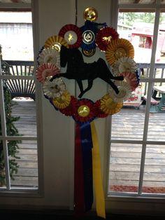horse show ribbon display diy - Bing Images