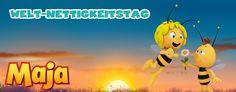 Die Biene Maja feiert den Welt-Nettigkeitstag!