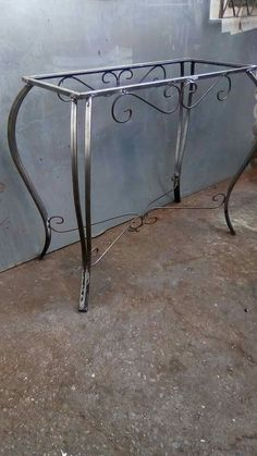 Iron table legs rustic look iron table base with by bradfordbranch – Artofit Wood Projects That Sell, Diy Furniture Projects, Home Decor Furniture, Furniture Design, Iron Furniture, Steel Furniture, Granite Table, Wrought Iron Decor, Iron Table