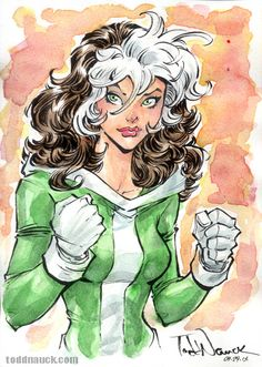 Rogue Sketch #xmen #marvel #sketch #comic #art #drawing