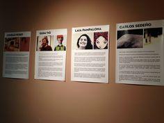 Primera expo colectiva organizada por The Walrus Hub en la Walrus Gallery, 25/04/13 con LAIA PAMPALONA, CONRAD ROSET, GUIM TIÓ Y CARLOS SEDEÑO