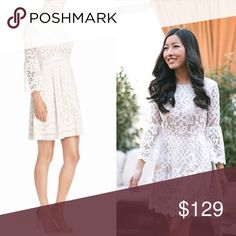 Eliza J Bell Sleeve Fit & Flare Dress SOLD OUT NWT , very pretty dress , SOLD OUT Eliza J Dresses