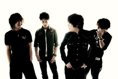 ONE OK ROCK these dudes are the real deal!! Hon mono da! Love their music