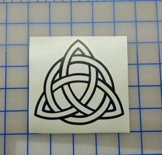 Celtic Knot Triquerta Decal