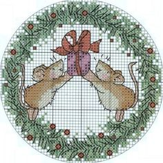 Link takes you through to loads of Christmas cross stich patterns - scrolled a fair way down for this one.