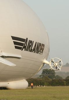 World's largest aircraft Airlander 10 delights crowds on maiden voyage