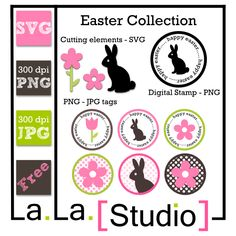 FREE Easter SVG's