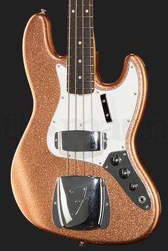 Fender 64 Jazz Bass CC CO SPKL