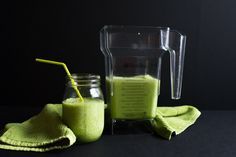 Green Dragon Smoothie for Kids' Constipation